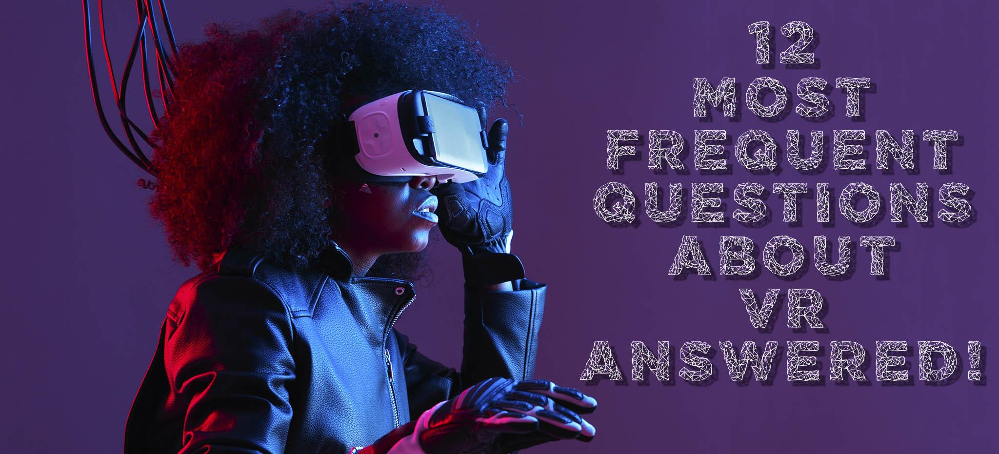 Futuristic VR Woman