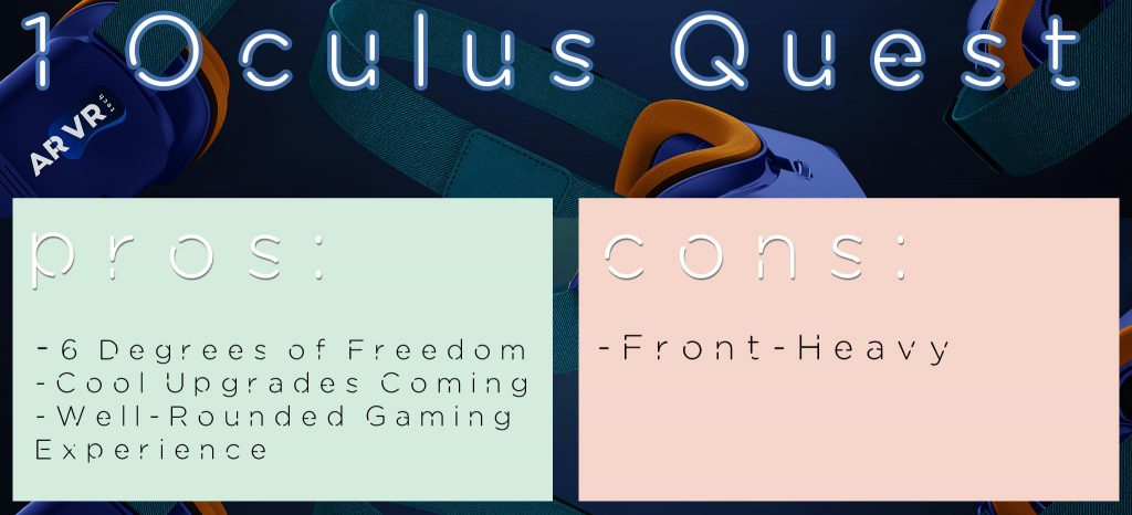 Oculus Quest PRO CON