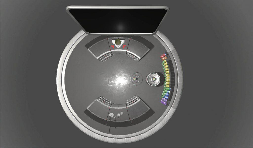 Top View VR Laboratory