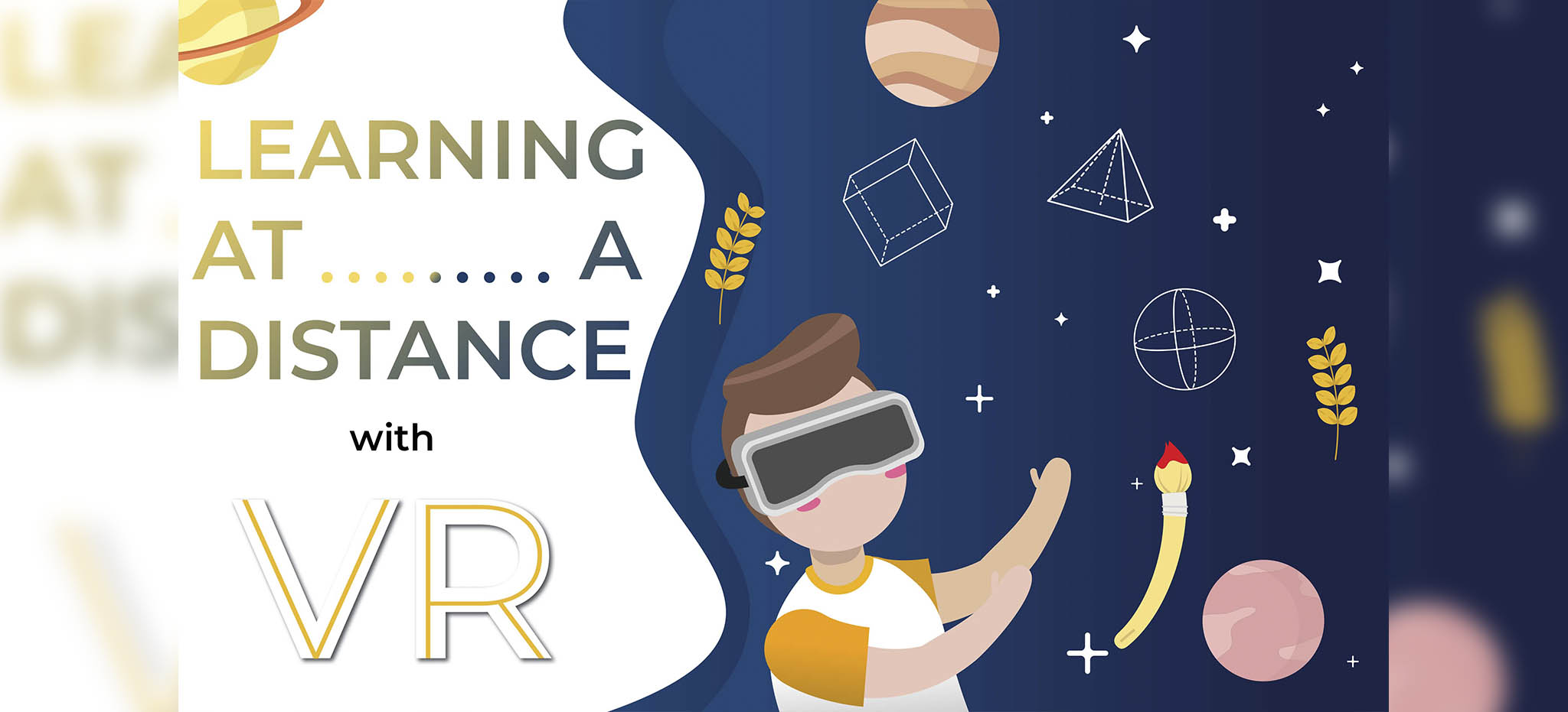 Learning at a Distance, VR Education Coronavirus
