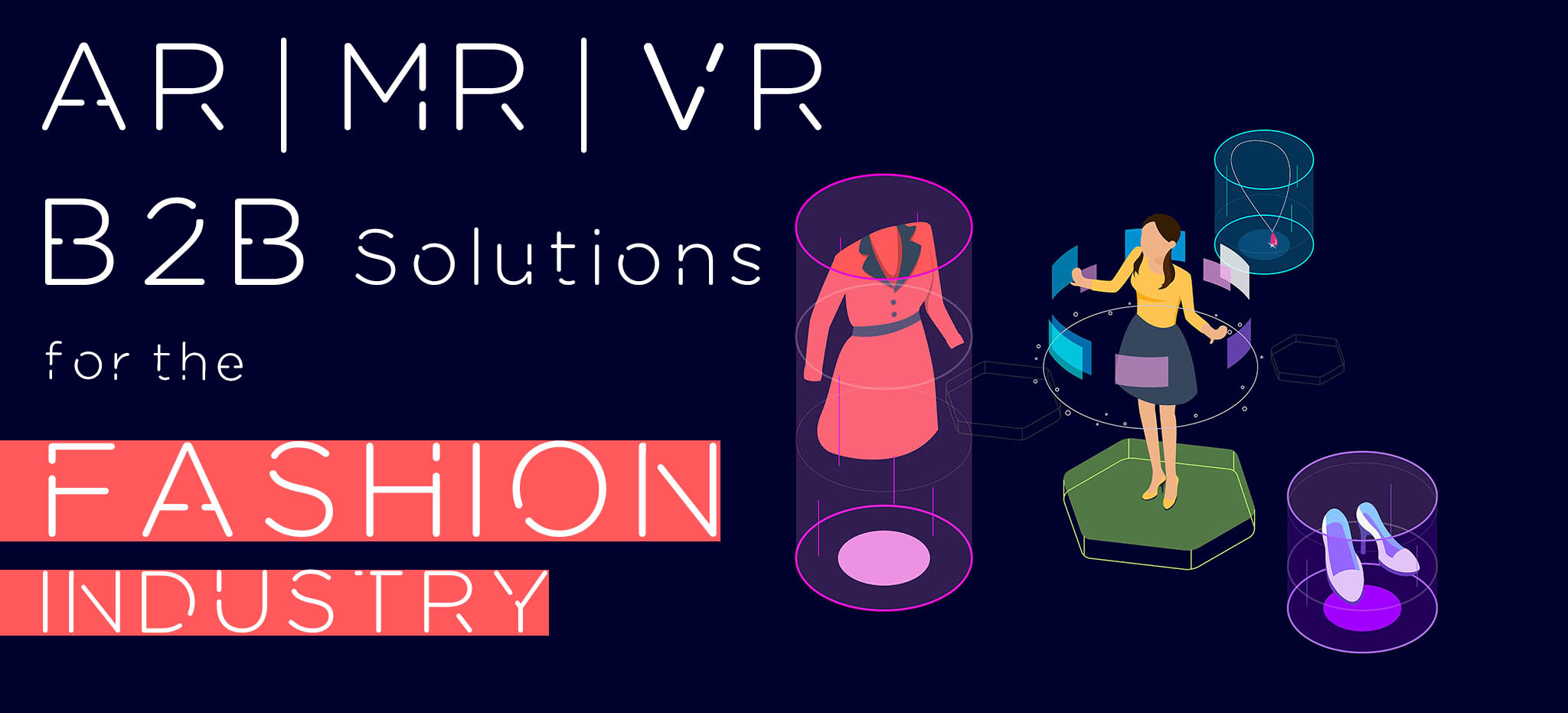 AR VR Fashion Industry Solutions
